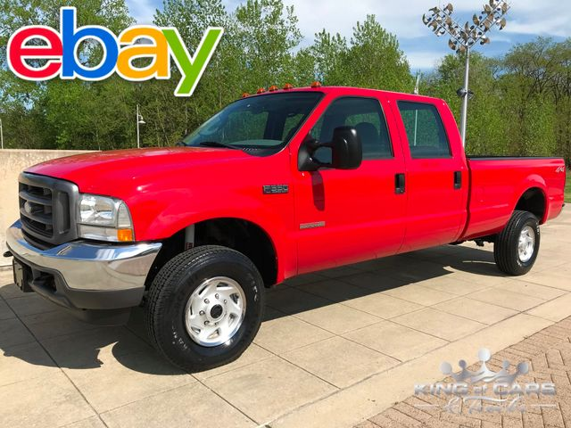 2003 Ford F350 Crew Cab Xl 6.0L DIESEL 4X4 57K ACTUAL MILES 2-OWNER