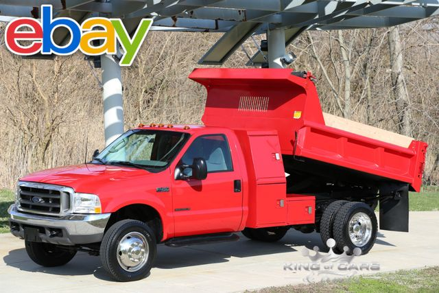 2003 Ford F450 L-Pack Mason DUMP 7.3L TURBO DIESEL LOW MILES