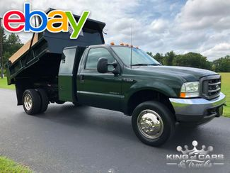 2003 Ford F550 7.3l Diesel 4x4 L-PACK MASON DUMP ONLY 71K MILES WOW in Woodbury, New Jersey 08096