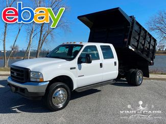 2003 Ford F550 Crew 4x4 DIESEL LANDSCAPE DUMP ONLY 58K MILE 1-OWNER in Woodbury, New Jersey 08096