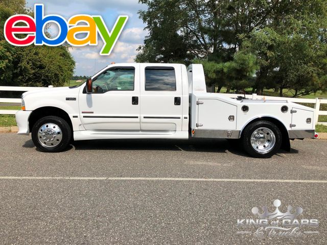 2003 Ford F550 Diesel Hauler CONVERSION DRW CREW ONLY 67K MILES RARE