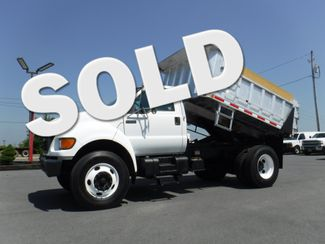 2003 Ford F750 10' Eby Aluminum Dump Truck in Lancaster, PA PA
