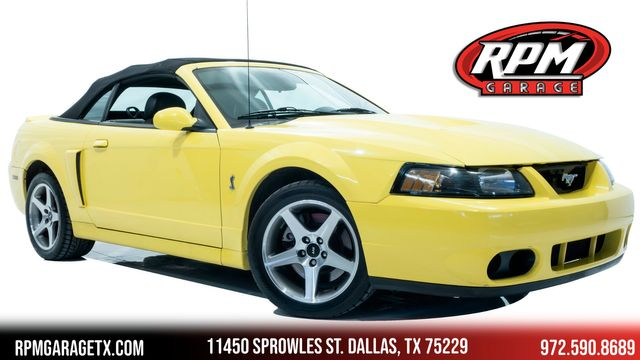 2003 Ford Mustang SVT Cobra in Dallas, TX 75229
