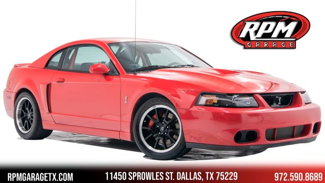 2003 Ford Mustang SVT Cobra with Many Upgrades