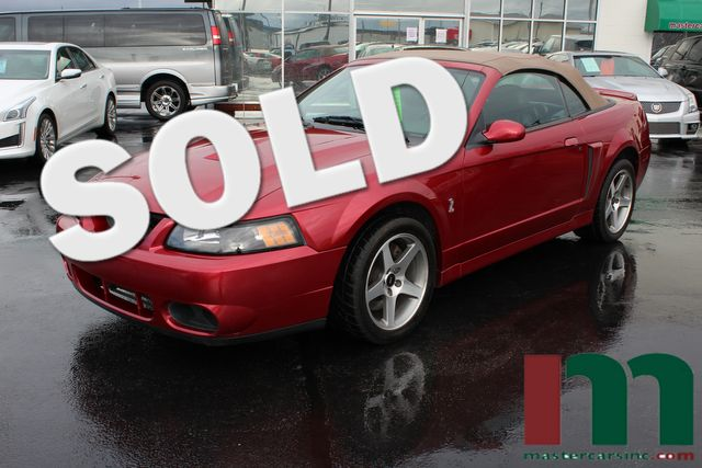 2003 Ford Mustang SVT Cobra | Granite City, Illinois | MasterCars Company Inc. in Granite City Illinois