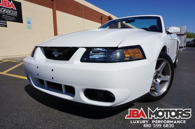2003 Ford Mustang SVT Cobra Convertible V8 Supercharged 6 Speed