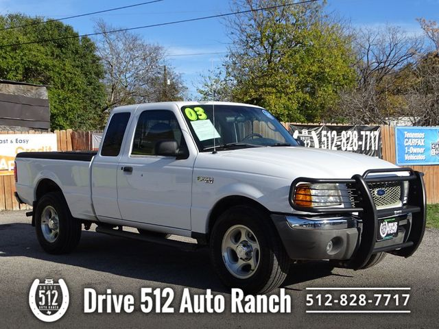 2003 Ford RANGER 4X4 EXT CAB LOW MILES