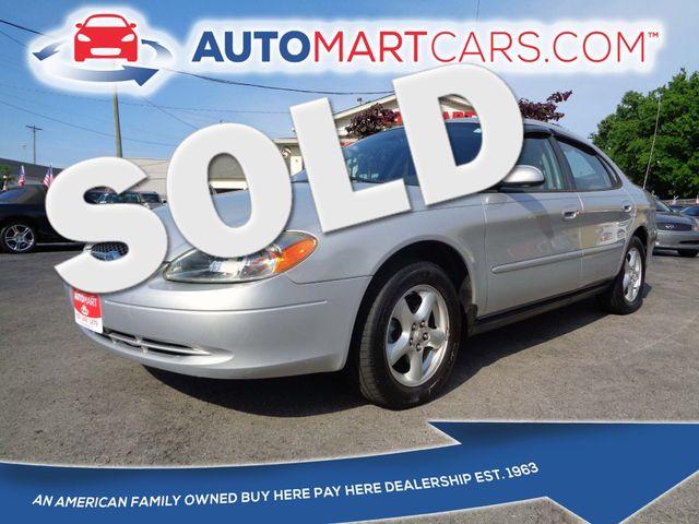 2003 Ford Taurus SES Standard   Nashville, Tennessee   Auto Mart Used Cars Inc. in Nashville Tennessee