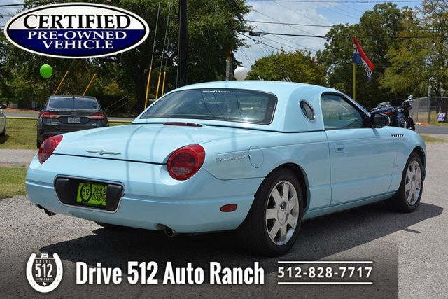 2003 Ford THUNDERBIRD RARE LOW MILES in Austin, TX 78745