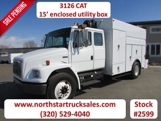2003 Freightliner FL70 3126 CAT Service Utility Truck in St Cloud, MN