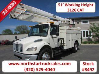 2003 Freightliner M2106 CAT 51 Working Height Bucket Truck   St Cloud MN  NorthStar Truck Sales  in St Cloud, MN