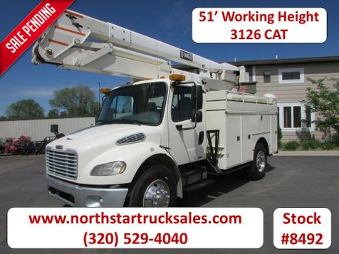2003 Freightliner M2106 CAT 51' Working Height Bucket Truck  in St Cloud, MN