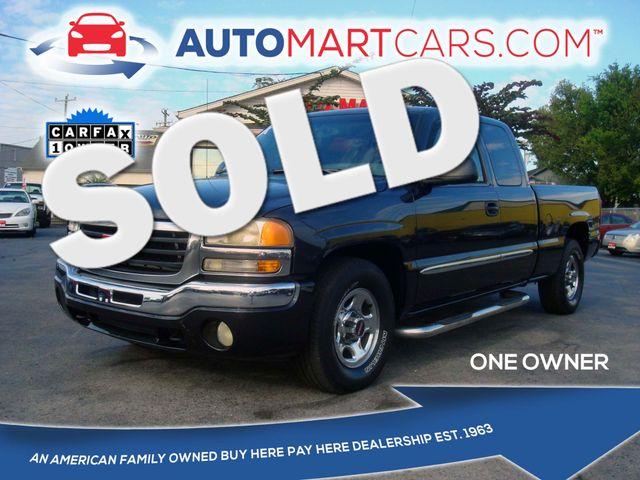 2003 GMC Sierra 1500 SLT | Nashville, Tennessee | Auto Mart Used Cars Inc. in Nashville Tennessee