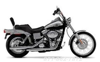 2003 Harley-Davidson DYNA WIDE GLIDE FXDWG WIDE GLIDE FXDWG in Chicago Illinois, 60555