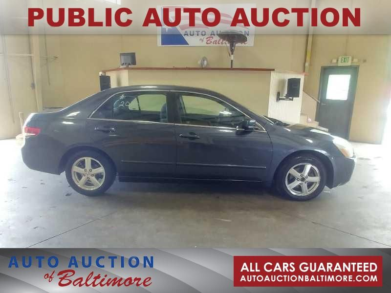 2003 Honda Accord EX   JOPPA, MD   Auto Auction of Baltimore  in JOPPA MD