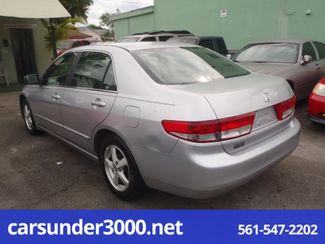 2003 Honda Accord EX Lake Worth , Florida 3