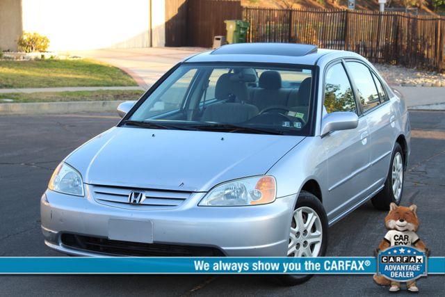 2003 Honda CIVIC EX 88K MLS 1-OWNER SERVICE RECORDS