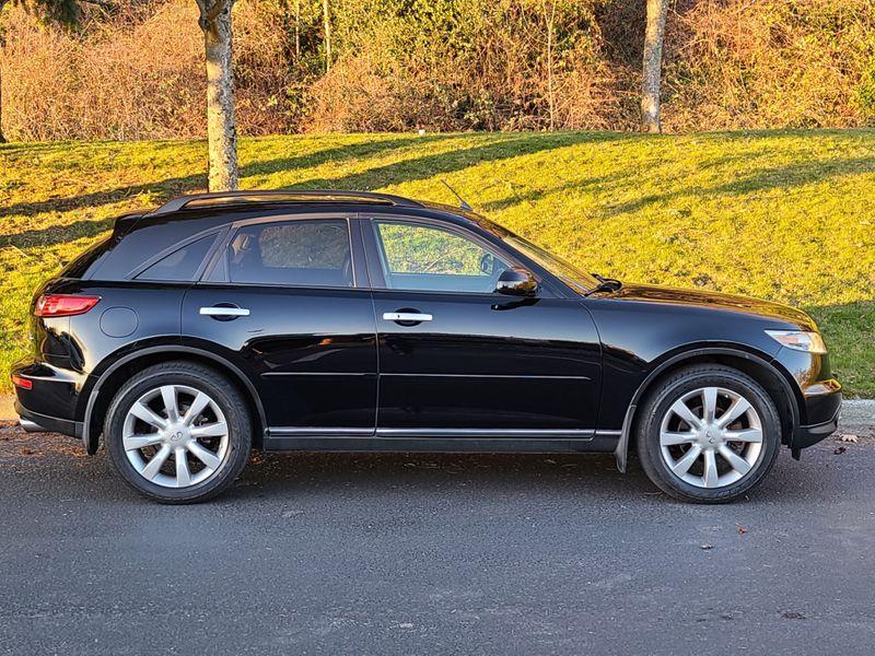 2003 Infiniti FX35 AWD Premium Tech Sport Packages Adaptive Cruise Rear Camera  city Washington  Complete Automotive  in Seattle, Washington