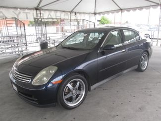 2003 Infiniti G35 w/Leather Gardena, California