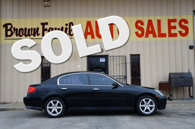 2003 Infiniti G35 w/Leather | Houston, TX | Brown Family Auto Sales in Houston TX