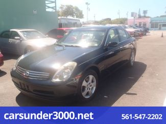 2003 Infiniti G35 Lake Worth , Florida