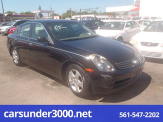 2003 Infiniti G35 Lake Worth , Florida 1
