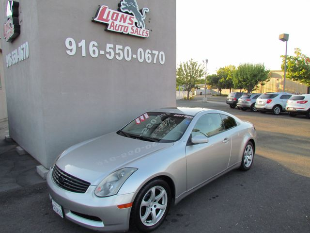 2003 Infiniti G35 w/Leather LOw Miles 83K