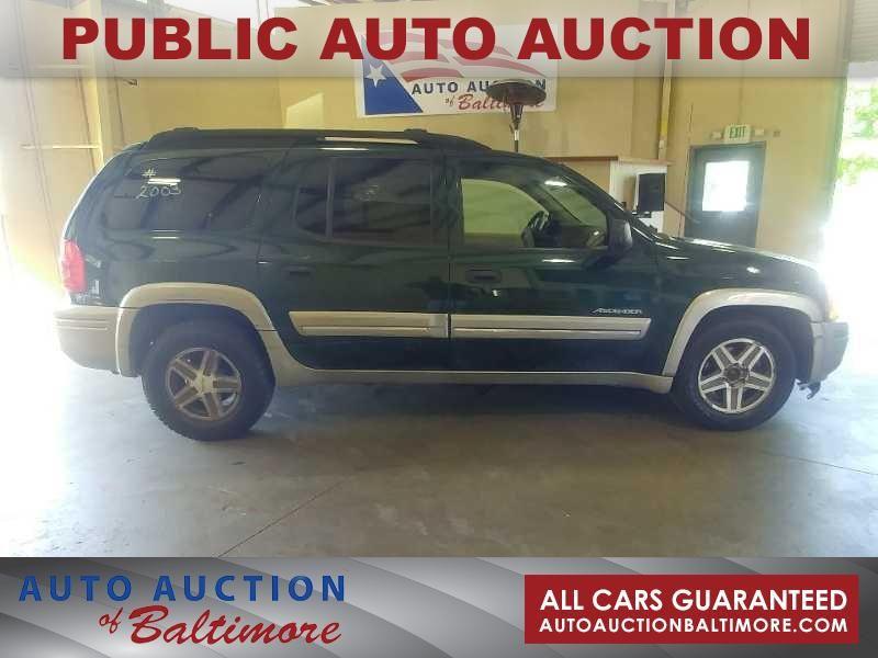 2003 Isuzu Ascender S   JOPPA, MD   Auto Auction of Baltimore  in JOPPA MD