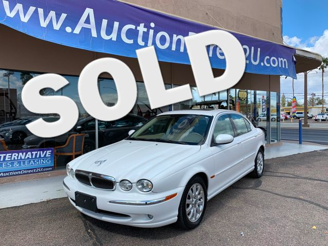 2003 Jaguar X-TYPE 2.5L 3 MONTH/3,000 MILE NATIONAL POWERTRAIN WARRANTY Mesa, Arizona 0