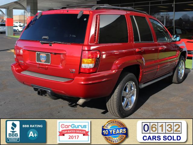 2003 Jeep Grand Cherokee Overland 4WD - SUNROOF - ONLY 49K MILES! Mooresville , NC 2