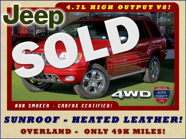 2003 Jeep Grand Cherokee Overland 4WD - SUNROOF - ONLY 49K MILES! Mooresville , NC