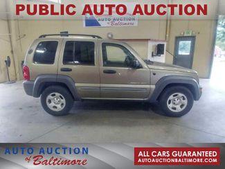 2003 Jeep Liberty Sport   JOPPA, MD   Auto Auction of Baltimore  in Joppa MD