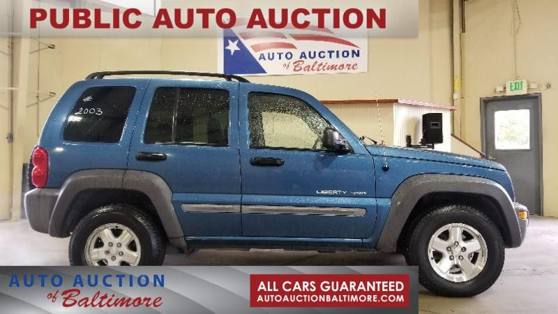 2003 Jeep Liberty Sport >> 2003 Jeep Liberty Sport Joppa Md Auto Auction Of