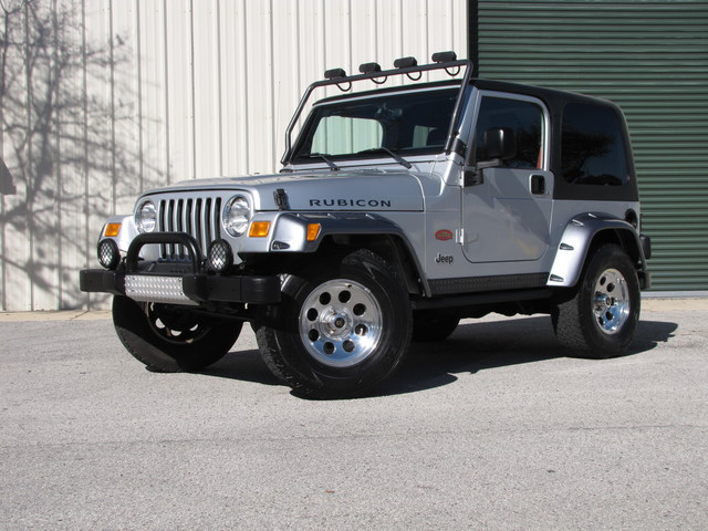 2003 Jeep Wrangler Rubicon TOMB RAIDER ED.