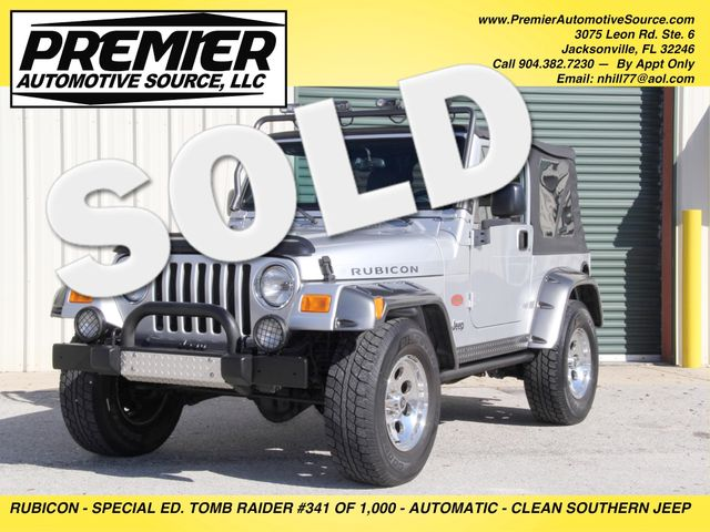 2003 Jeep Wrangler Rubicon Tomb Raider