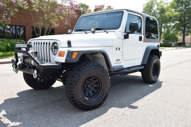 2003 Jeep Wrangler X in Memphis Tennessee, 38128