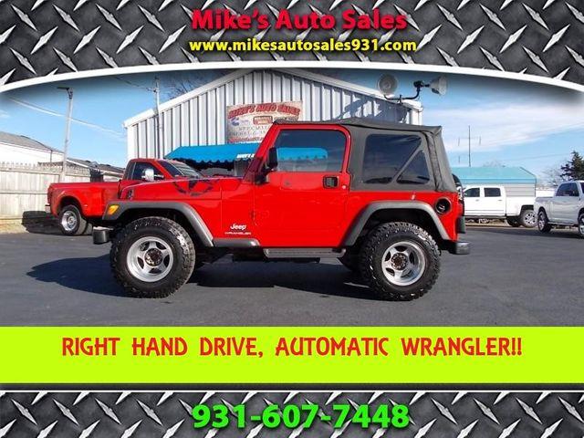 2003 Jeep Wrangler Sport Shelbyville, TN