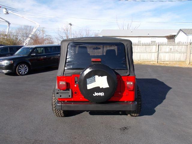 2003 Jeep Wrangler Sport Shelbyville, TN 13