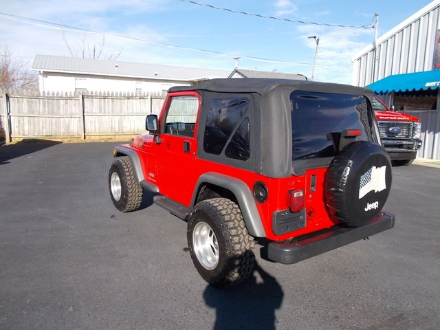 2003 Jeep Wrangler Sport Shelbyville, TN 4