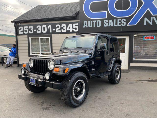 2003 Jeep Wrangler Sahara in Tacoma, WA 98409