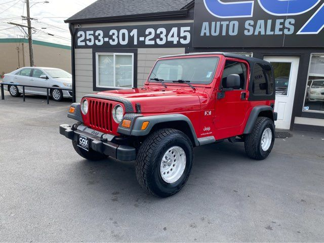 2003 Jeep Wrangler X in Tacoma, WA 98409