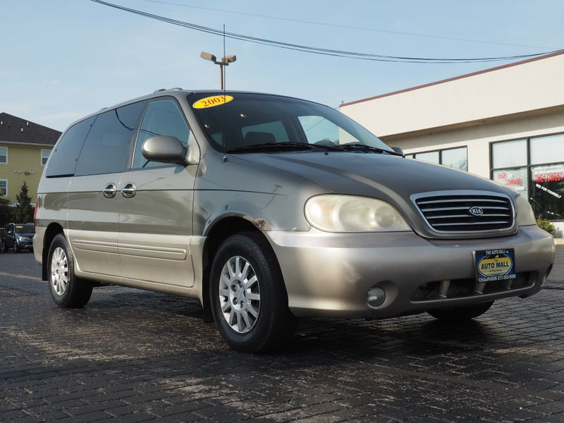 Good 2003 Kia Sedona EX | Champaign, Illinois | The Auto Mall Of Champaign