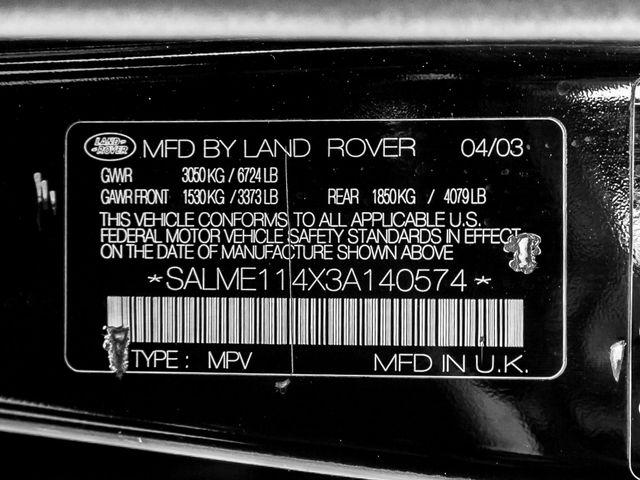 2003 Land Rover Range Rover HSE Burbank, CA 26