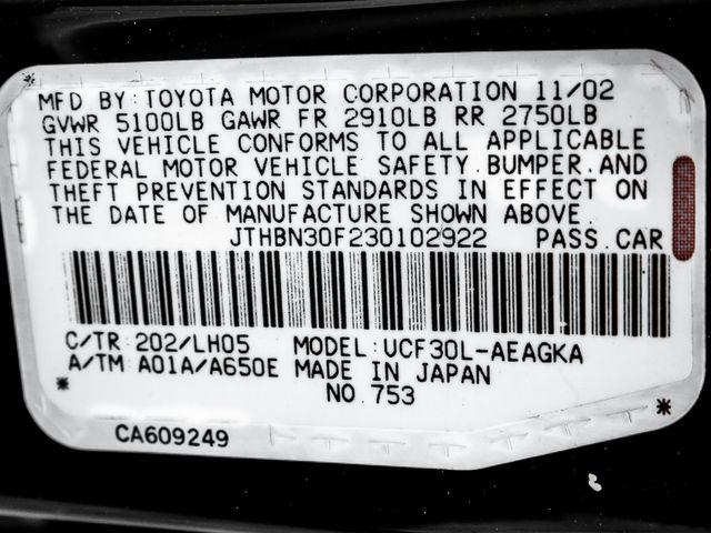 2003 Lexus LS 430 Burbank, CA 28