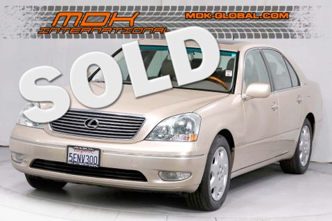 2003 Lexus LS 430 - Only 53K miles since new - Service Records in Los Angeles