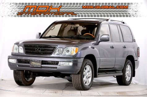 2003 Lexus LX 470 - Mark Levinson Sound - Only 12K miles since new in Los Angeles