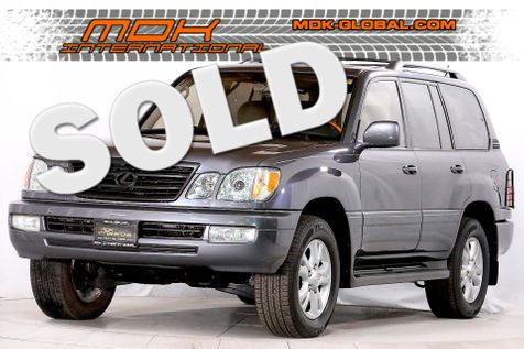 2003 Lexus LX 470 - Mark Levinson Sound - Only 14K miles since new in Los Angeles