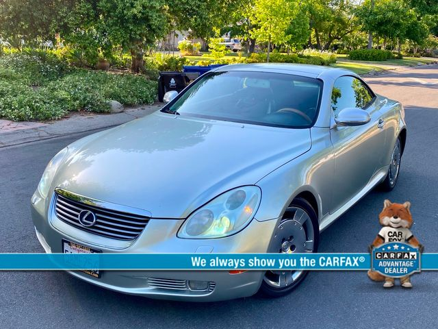 2003 Lexus SC 430 1-OWNER NAVIGATION CONVERTIBLE SERVICE RECORDS