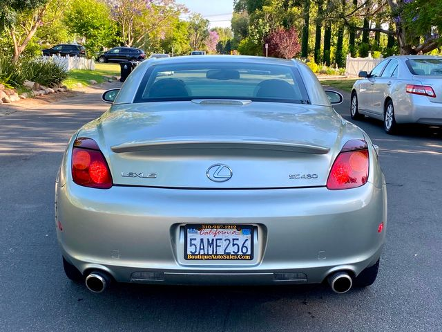 2003 Lexus SC 430 1-OWNER NAVIGATION CONVERTIBLE SERVICE RECORDS in Van Nuys, CA 91406