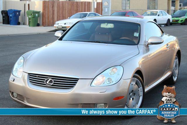 2003 Lexus SC 430 NAVIGATION XENON TIMING BELT IS DONE SERVICE